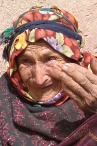 Lalla Fadma, rencontrée dans un village du Haut Atlas